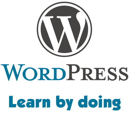 WordPress Website–Learn By Doing following 3 minutes videos